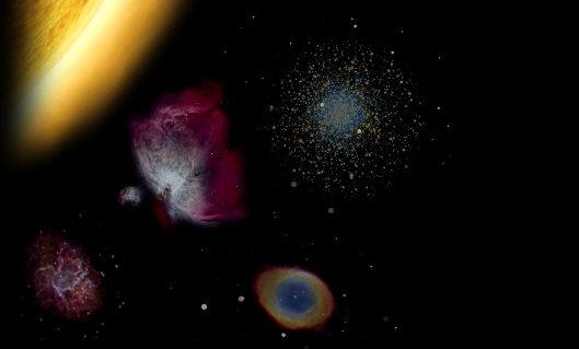 כוכבים - שמשות ביקום