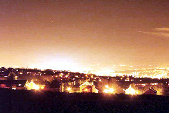 זיהום אור בישראל