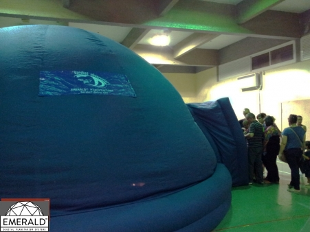 emerald inflatable planetarium 7